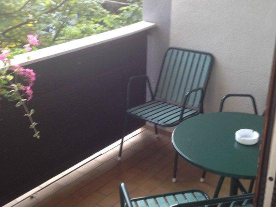 Gasthof Brauwirt: le balcon