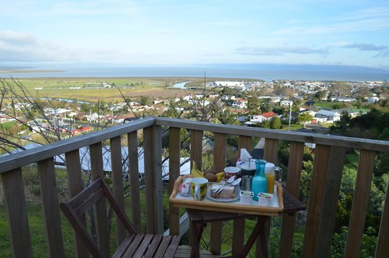 Grafton Cottage and Chalets: desayuno