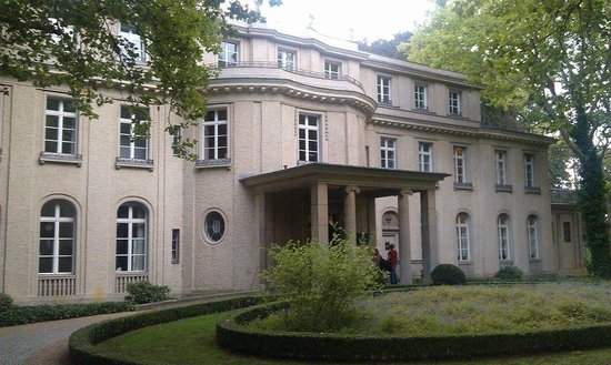House from the outside Picture of Haus der Wannsee
