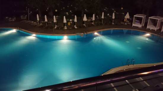 Atlantica Sea Breeze: Pool at night