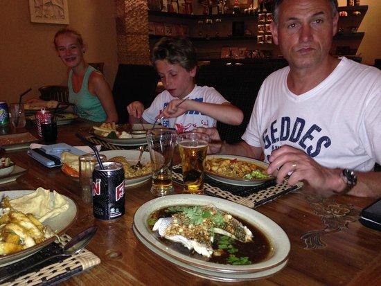 Putumayo: Sfeervol ingericht en heerlijke gerechten
