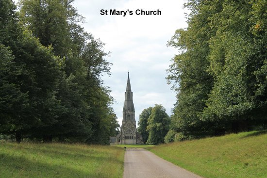 Fountains Abbey and Studley Royal Water Garden: St Mary's Church