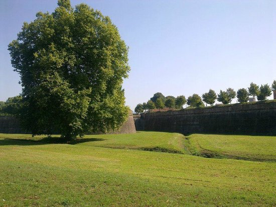 B&B Casa Anita: le mura dall'esterno di Lucca