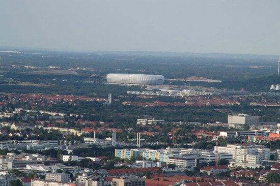 Allianz Arena : Dalla Torre del Parco Olimpico