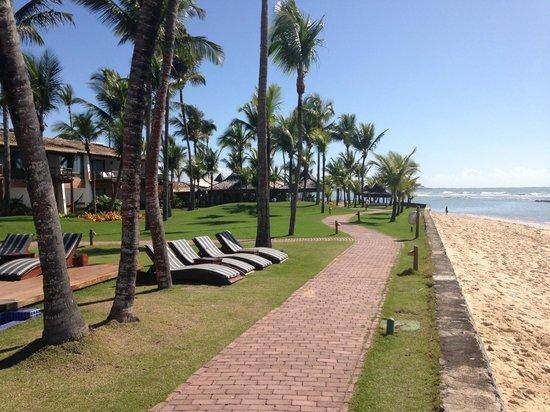 Arraial D'Ajuda Eco Resort: Frente praia
