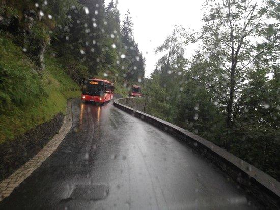 Obersalzberg : Les derniers kilomètres en Bus, si vous n'avez pas le vertige