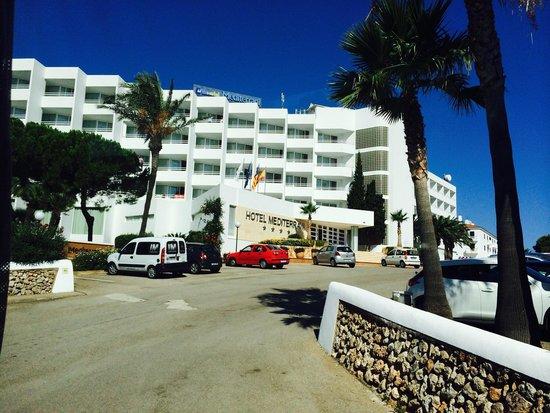 Globales Mediterrani: Hotel Mediterrani- Cala Blanca