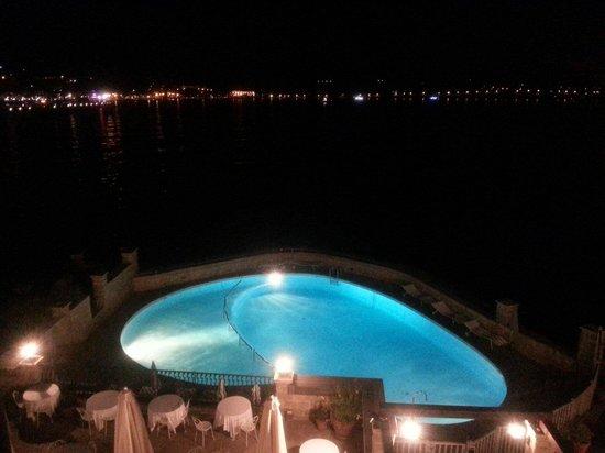 Hotel Le Delos : Vue d'une chambre 2ème étage, bâtiment principal le Delos