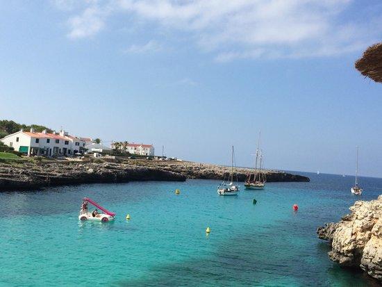 Globales Mediterrani: La caletta vicino l'Hotel Mediterrani- Cala Blanca-1 minuto a piedi