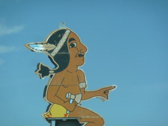 Bowlin's Running Indian: Bowlins Running Indian