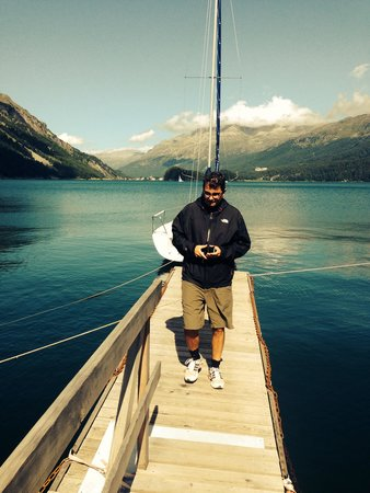 Kulm Hotel St. Moritz: Lele