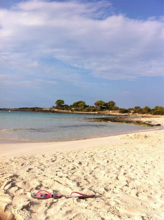 Playa Arenal De Son Saura : Son saura