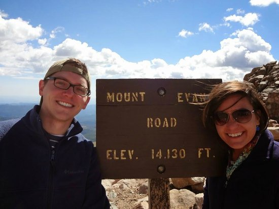 Mount Evans: It's cold up here!