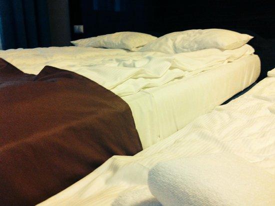 Hotel Focus Gdansk: łóżko