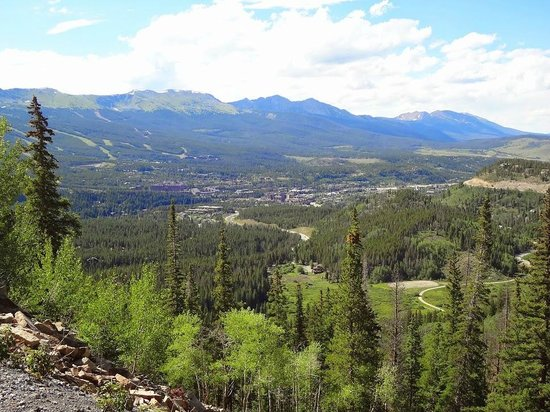 Boreas Pass Road: View looking back at Breck