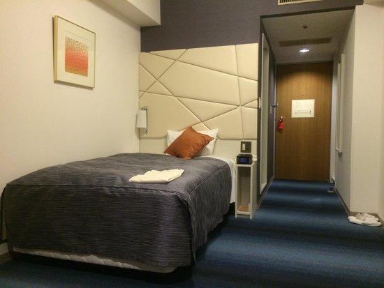 Shiba Park Hotel : シングル ベット