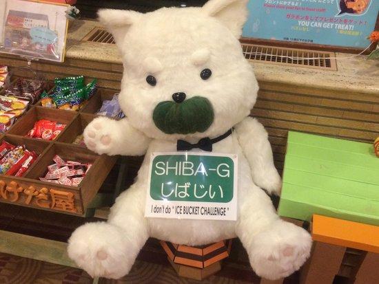 Shiba Park Hotel : ホテルキャラクター しばじい