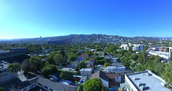 Sofitel Los Angeles at Beverly Hills : View from the room