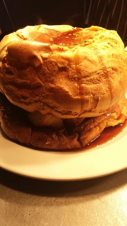 The Fountain Hotel: The famous Sunday lunch sandwich