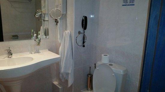 Hotel Aquamarine : Bathroom
