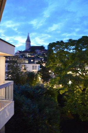 Hotel Freienhof: Aussicht aus dem Zimmer