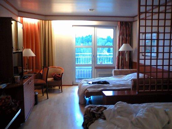 The Naantali Spa: リゾートなので部屋は広め