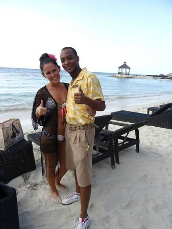 Secrets Wild Orchid Montego Bay: Me and the amazing Leo