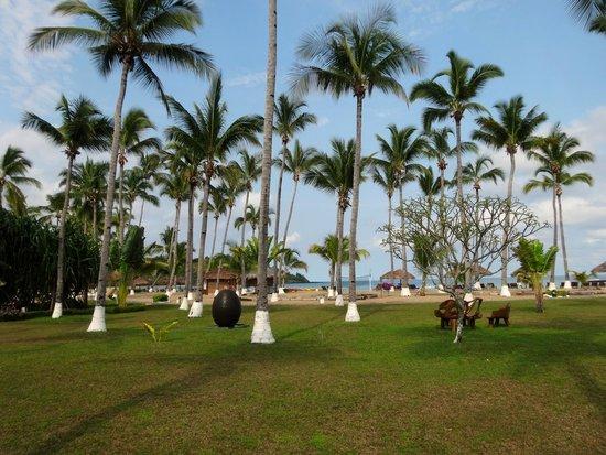 Andilana Beach Resort : Parco del villaggio