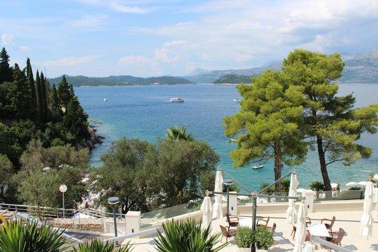 Lafodia Hotel & Resort: vue sur mer