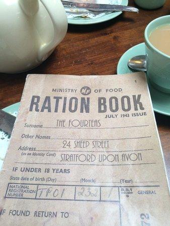 The Fourteas: Tea ration