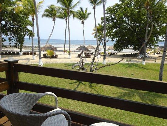 Andilana Beach Resort : Vista dal balcone