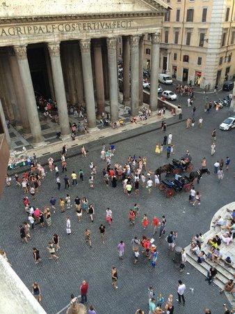 Hotel Abruzzi: Pantheon view
