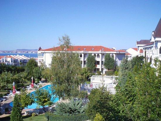 The South Beach Hotel: вид из номера