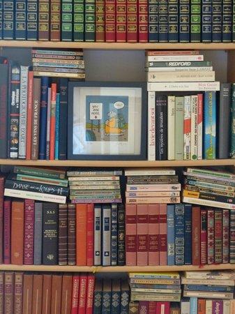 La Barde: Coin bibliothèque
