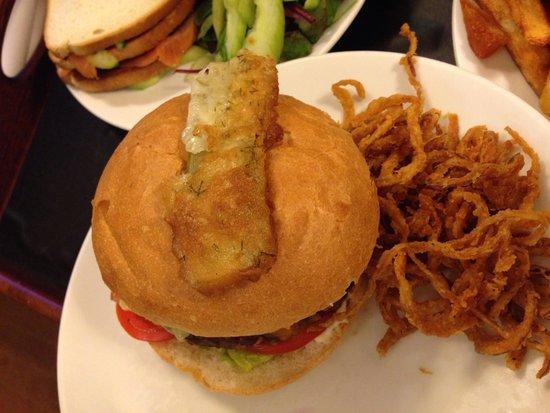Radisson Blu Edwardian Vanderbilt: Room service (rm 108)