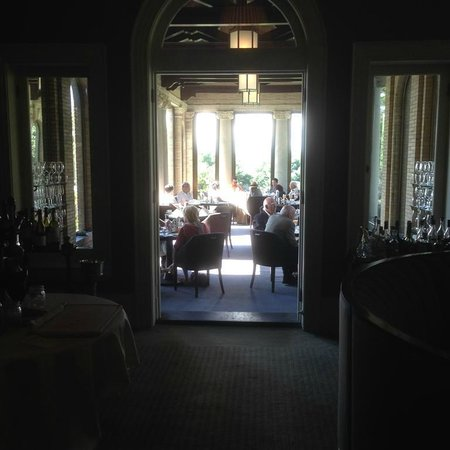 Wheatleigh : the dining room during Saturday brunch
