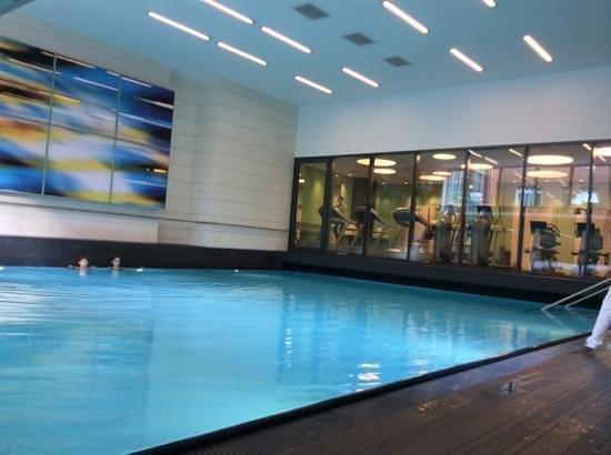 Pullman Berlin Schweizerhof: piscina e palestra