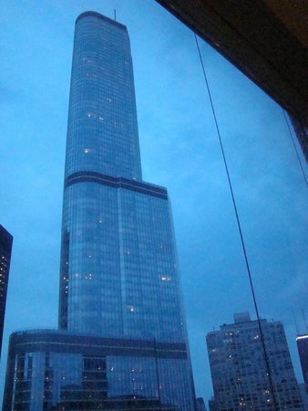 Wyndham Grand Chicago Riverfront: Vista desde a habitacion
