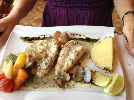 Zahra´s Grill : Fish of the day- fresh and perfect