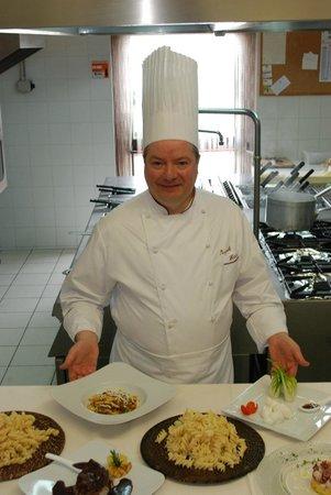 L'Antica Locanda: lo chef-patron Pasquale fatalino