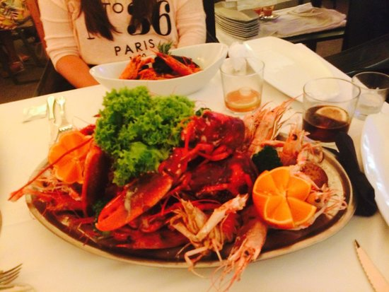 Gabbeach Hotel Boutique : Seafood Grill (2 people)