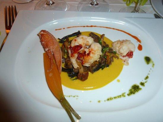L'Hippocampe: 1er plat de homard