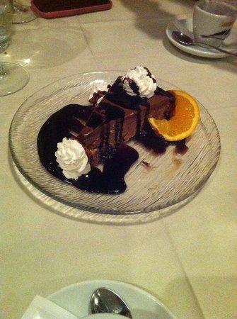 Restaurant Amigos: torta al cioccolato..buonissima