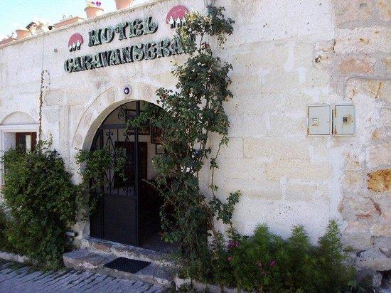 Caravanserai Cave Hotel : entrata