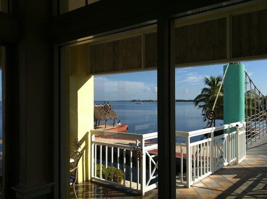 Key Largo Bay Marriott Beach Resort : dalla camera
