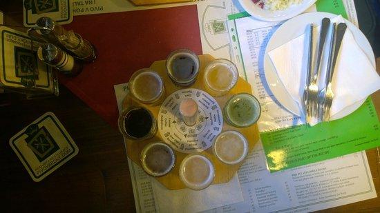 Pivovarsky dum : degustazione 8 birre