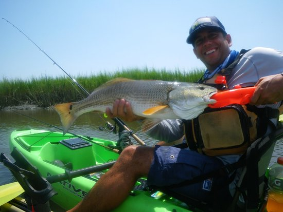 Red drum 8/20/2014 with Summertide Adventure Tours