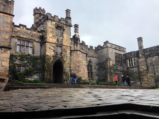 Haddon Hall: From the courtyard