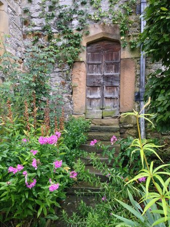 Haddon Hall: Possibly the cutest door in existence