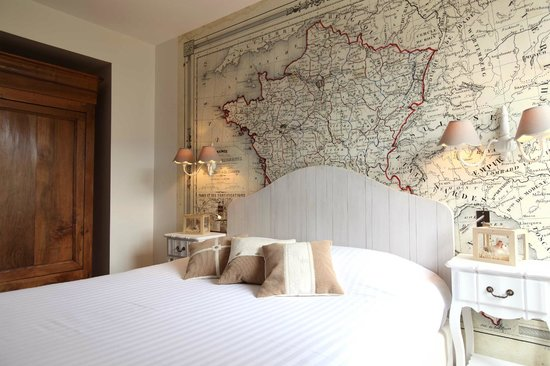 Hotel La Croix Blanche Fontevraud: Chambre France - French room